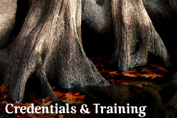 Credentials, Training, and Affiliations